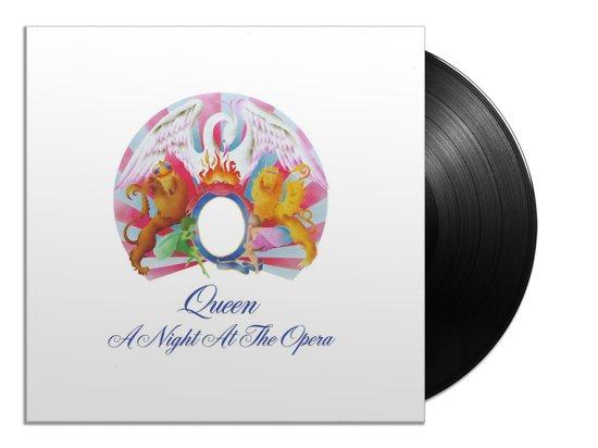 CD cover van Night at the Opera (LP) van Queen