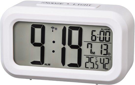 Hama Radio gestuurde wekker RC660 wit