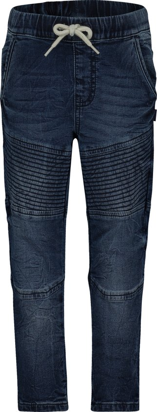 Noppies Broek Bristol - Medium Blue Wash - Maat 110
