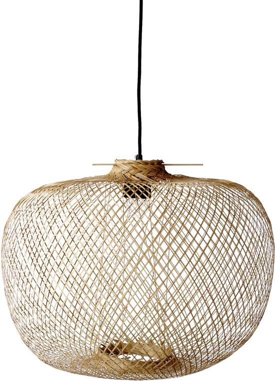 bol bloomingville hanglamp bamboe naturel 42xh30 cm