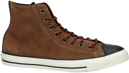 caeffaa8ac7 bol.com | Converse All Star Hi hiker suede - Sneakers - Maat 41 - Cognac