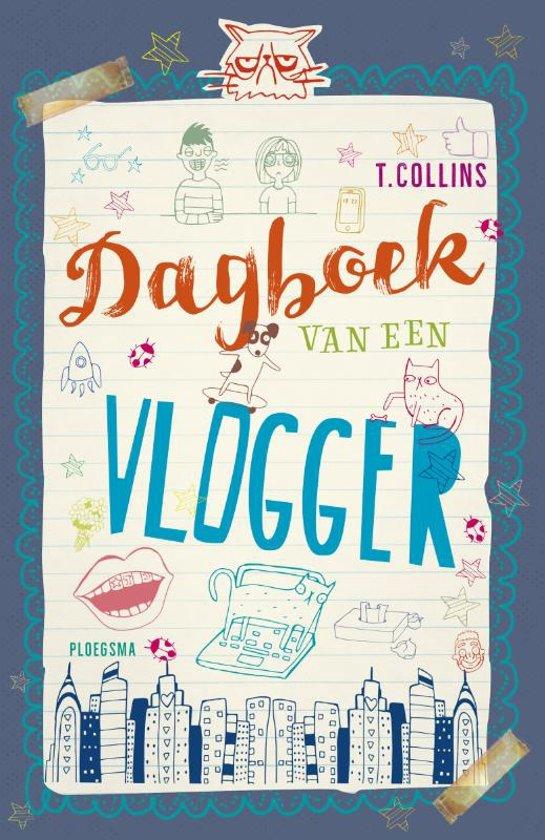 Boek cover Dagboek van een vlogger van Tim Collins (Hardcover)
