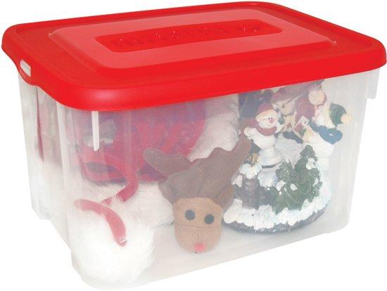 Allibert Kerstballenbox - 12 l - Wit