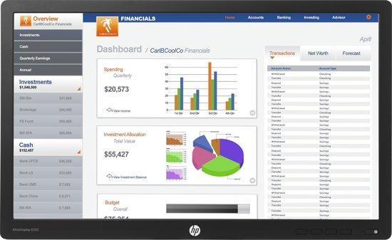 HP EliteDisplay E232 - Monitor