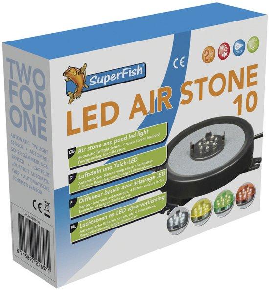 Superfish vijver led lamp luchtsteen 10 cm for Superfish led verlichting