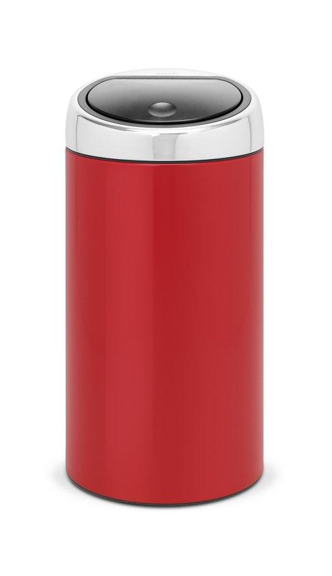 Touch Bin 45 Liter.Bol Com Brabantia Touch Bin Prullenbak 45 L Lipstick Red