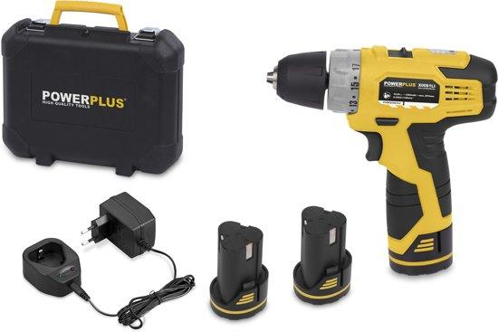 Zeer bol.com | Powerplus POWX0061LI Accuboormachine - 10,8 V - incl. 3 DZ72