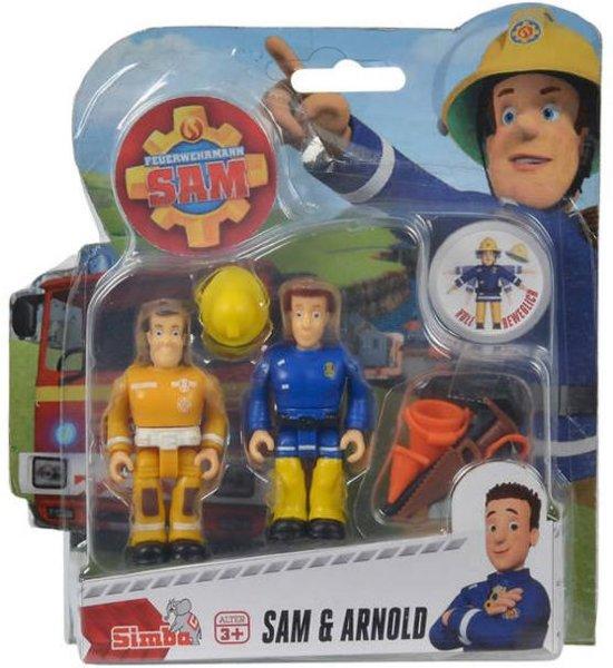 Populair bol.com | Brandweerman Sam Speelfiguren - Sam en Arnold, Simba &EX25