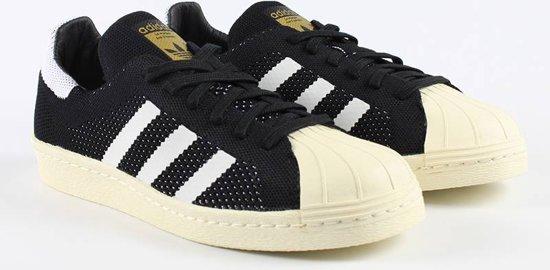adidas Superstar 80's Primeknit - Sneakers - Heren - Zwart - Maat 40 ...