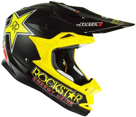 Just1 Kinder Crosshelm J32 Pro Rockstar-M