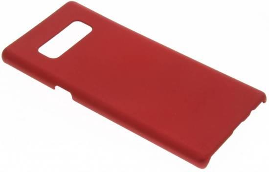 Plaine Rouge Cas De Étui Rigide Pour Samsung Galaxy Note 8 5FM8s