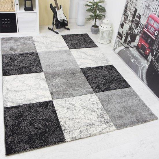 Vloerkleed - 2500 gr per m² - Infinity - Grijs - 7757 - 200x290 cm - 13 mm
