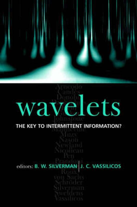 wavelets made easy nievergelt yves