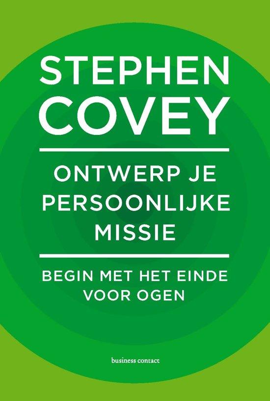 Boek cover Ontwerp je persoonlijke missie van Stephen Covey (Hardcover)