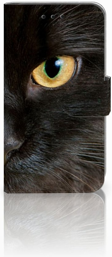 Microsoft Lumia 550 Leuk Hoesje Zwarte Kat