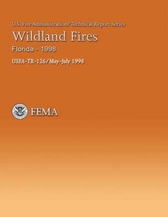 Wildland Fires, Florida-1998