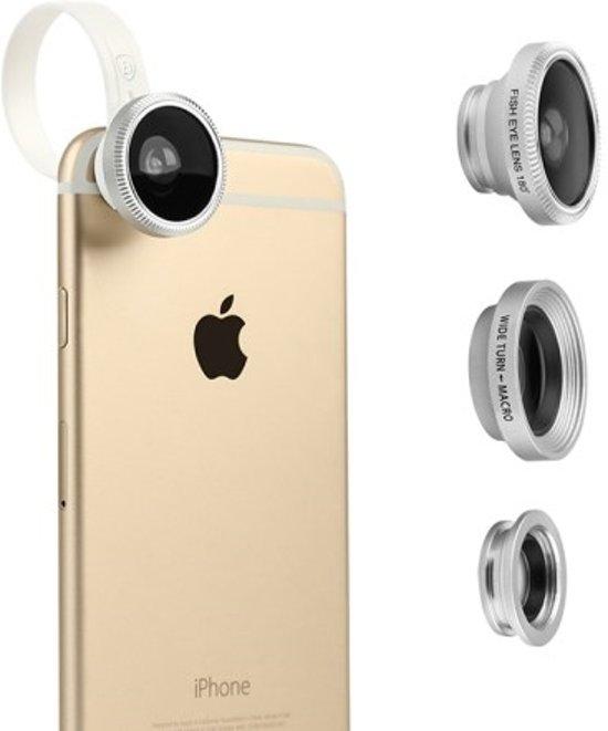 Baseus Mini lens - Fisheye / Wide Angle / Macro lens - 3-pack