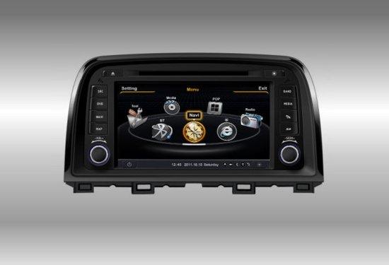 Audiovolt Autoradio 2-din navigatie Mazda 6/CX-5