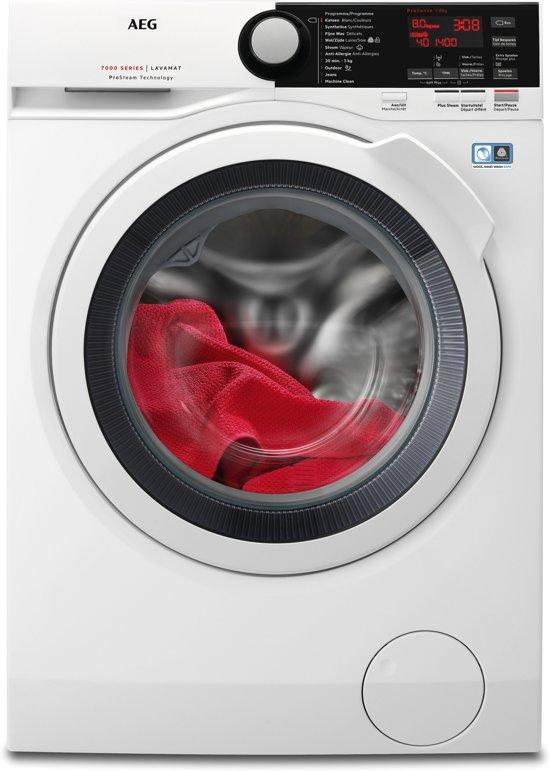 AEG L7FBE86W - Wasmachine