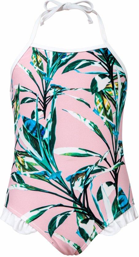 6b70bf9f08ab49 bol.com | Snapper Rock UV werend Badpak Kinderen Royal Palm - Roze ...