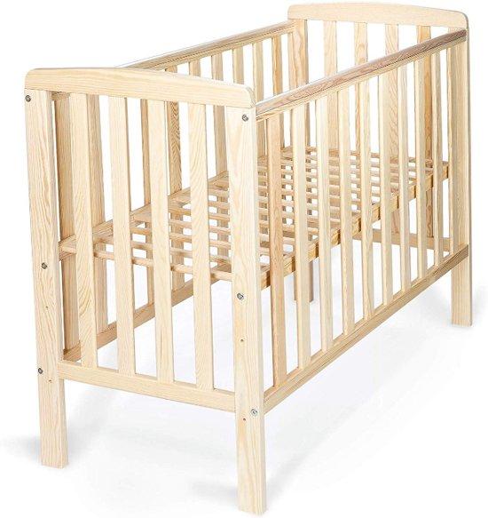 Hoogte Ledikant Baby.Babybed 100x50 Cm Ledikant Hoogte Verstelbaar Lattenbodem