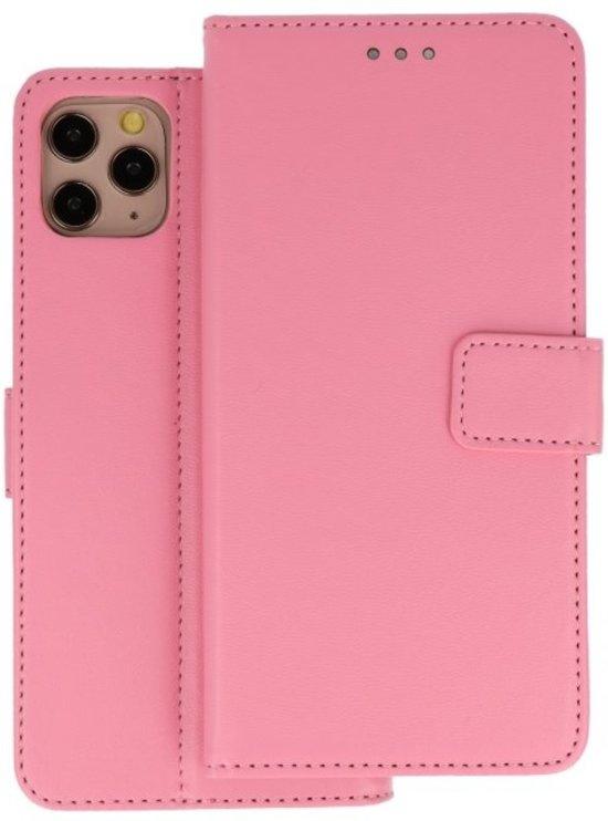 Wallet Cases Hoesje iPhone 11 Pro Max Roze