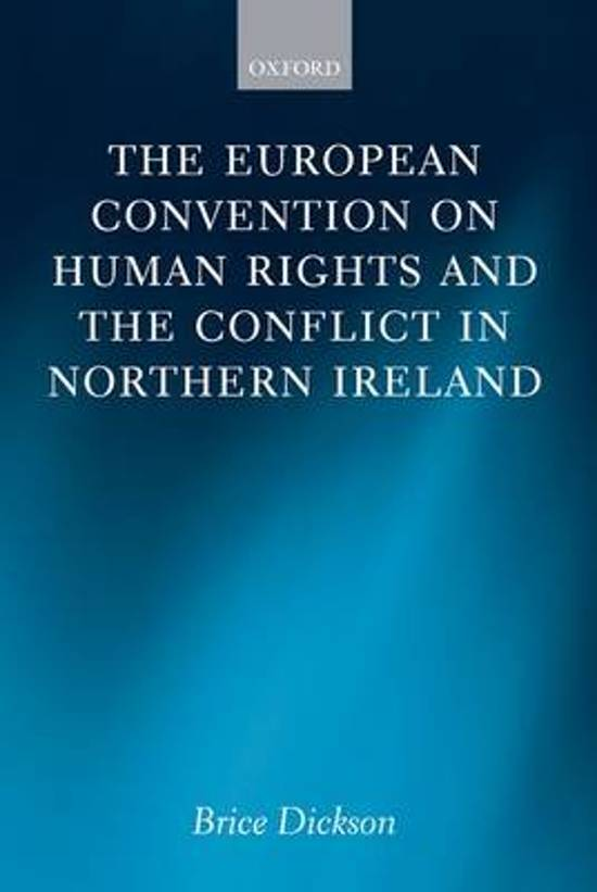 Bol Com The European Convention On Human Rights And The border=