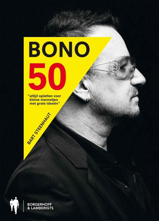 Boek cover Bono 50 van Bart Steenhaut (Hardcover)