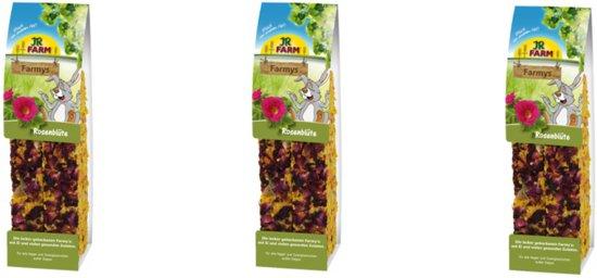 JR Farm - Farmys Rozenbloesem - 160g - Verpakt per 3 doosjes - Knaagdierensnack