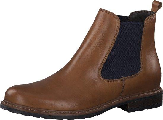 Tamaris Cognac Boots  Dames 38