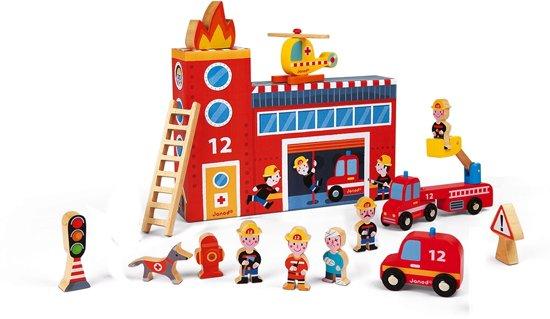 Janod Story Box de brandweer - 15-delig