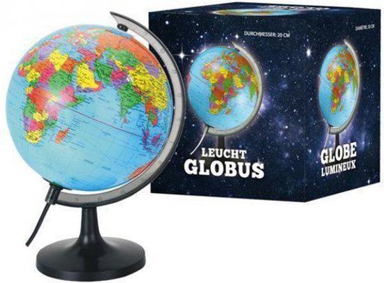 bol.com | Wereldbol met verlichting 20 cm, Fun & Feest Party Gadgets ...