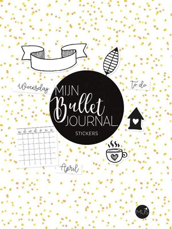 Mijn bullet journal STICKERS - MUS