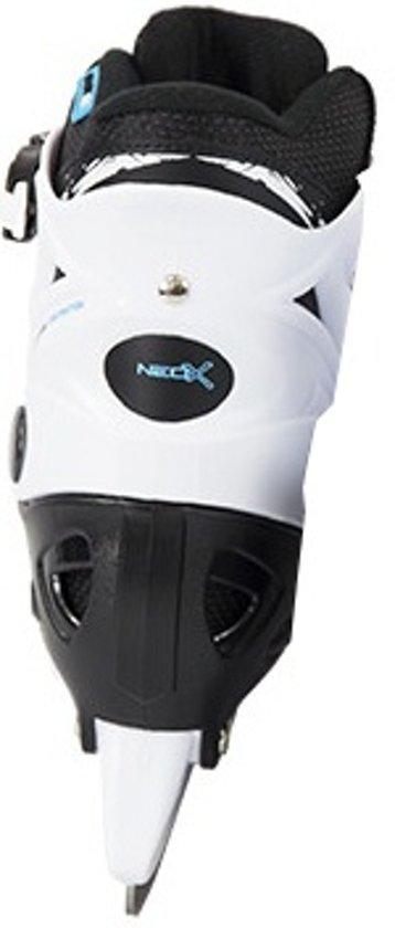 Tempish IJshockeyschaatsen verstelbaar NEO-X ICE Zwart/Wit 37-40