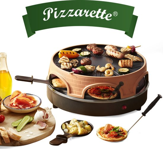 Emerio 3-in-1 Pizzarette - 6 personen