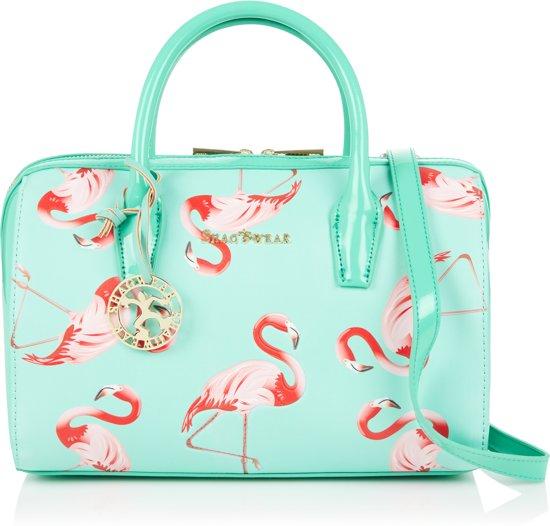 Nieuw phb Funky 0337 Flamingo Shagwear Schoudertas Handtas 404SH