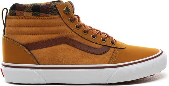 Vans Mn Ward Hi Mte Heren Sneakers - (Mte) Honey/Plaid - Maat 41