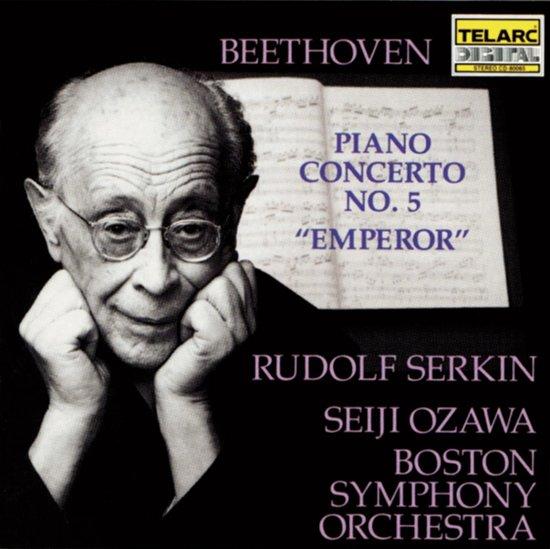 """Beethoven: Piano Concerto no 5 """"Emperor"""" / Serkin, Ozawa"""
