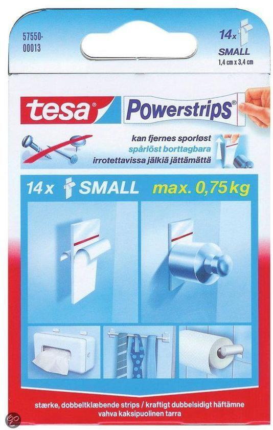 Bolcom Tesa Powerstrips Haken Small Rvs 2 Stuks