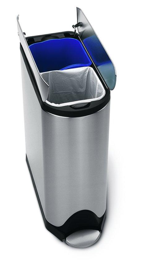 Simplehuman Butterfly Recycler 20 + 20 Liter