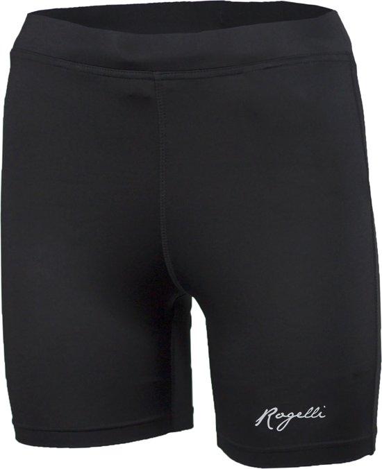 Rogelli Mulga Runningshort Tight - Hardloopbroek - Vrouwen - Maat L - zwart