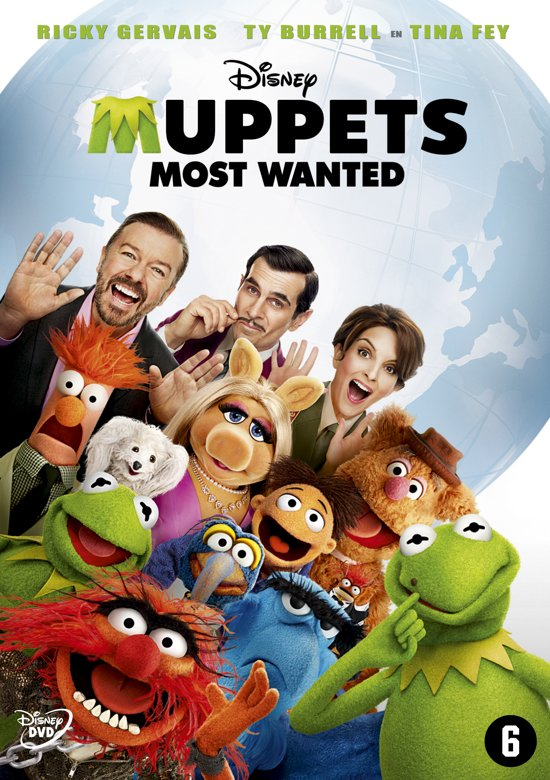 Cover van de film 'Muppets Most Wanted'