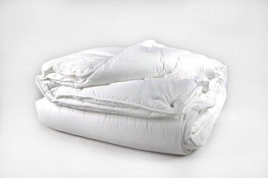 Ultra Soft 4-seizoenen Princessdekbed -Tweepersoons -Lits-jumeaux -XL- 270x220 cm- Anti Allergie-Wasbaar -Wit