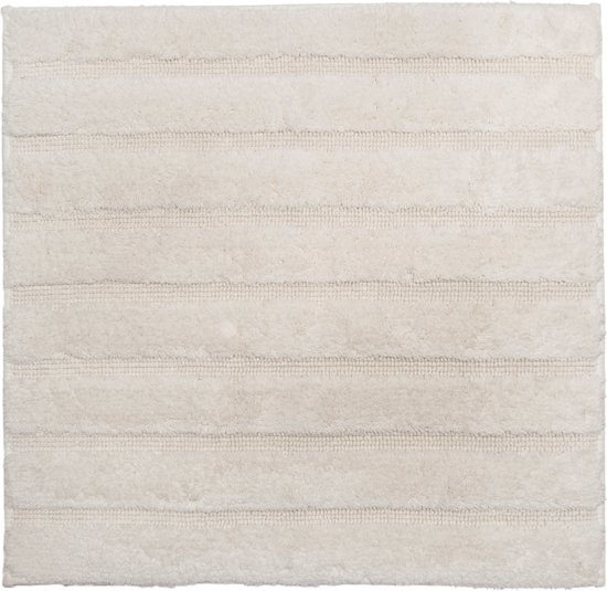 California - Badmat met antislip - Ivory - 60 x 60 cm