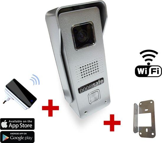 Draadloze Deurbel Met Camera.Bol Com Wifi Camera Deurbel Met Android Ios App Draadloze