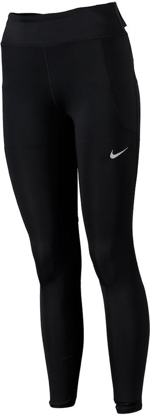 Nike Fast Tght Mr Sportlegging Dames - Zwart