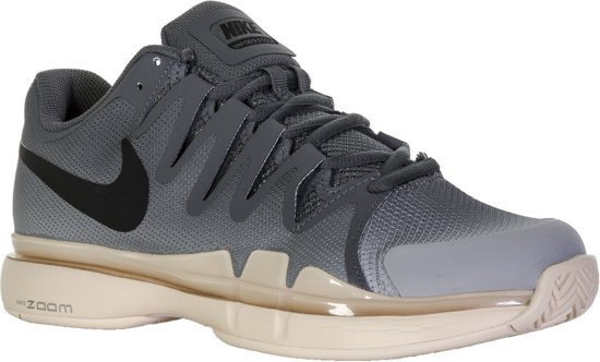 32415e94c316 Nike Zoom Vapor 9.5 Tour Tennisschoenen - Maat 38 - Vrouwen - grijs oranje