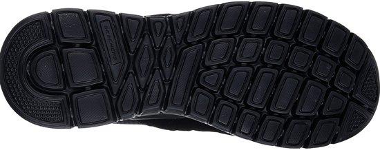 47 Sneakers Maat Eu Zwart Skechers Mannen 52635 bbk Burns 5 X0HTwxPqU
