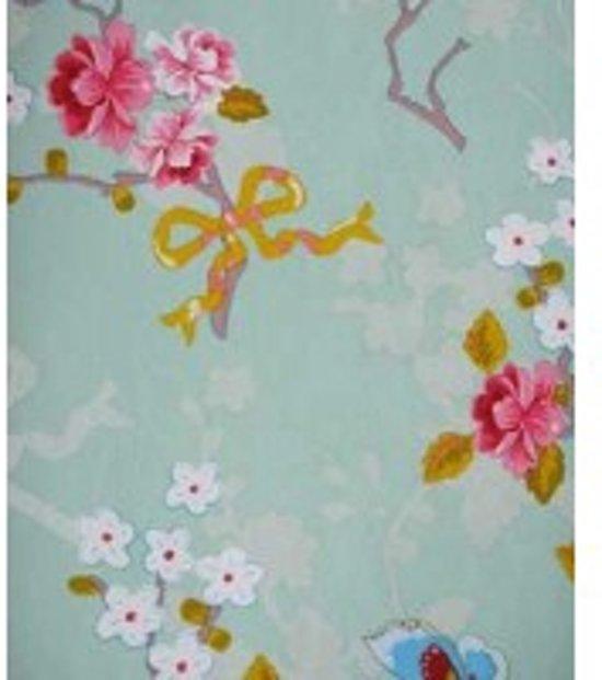 Eijffinger Pip Behang.Bol Com Eijffinger Pip Studio Behang Chinese Rose Groen