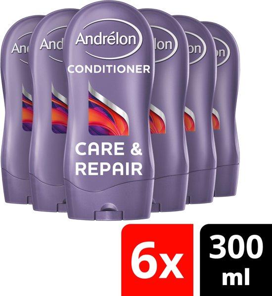 Andrélon Care & Repair Conditioner - 6 x 300 ml - Voordeelverpakking